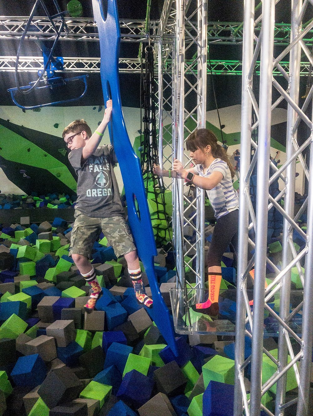 We went to Spider Monkey for the first time in this installment of our Week in the Life of an Unschooler!
