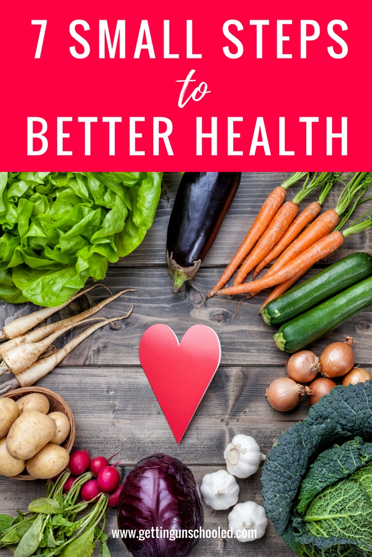 Great tips!  7 small steps to better health is a great starting point for anyone looking to spring clean their diet and start fresh!
