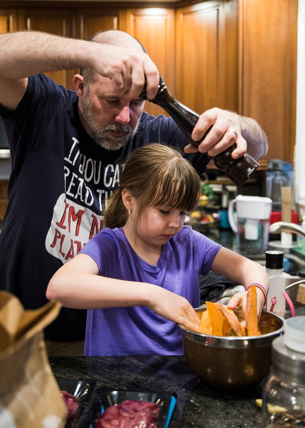 Why homeschool your child? To allow them to learn life skills like cooking!