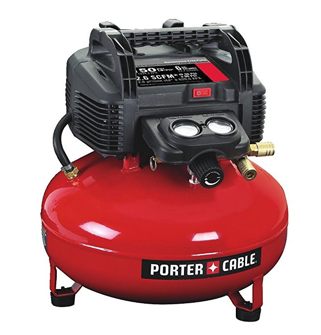 Who knew air compressors had so many talents??  No wonder Joe listed this as a cool Father's Day gift idea--this workhorse should be a staple in every man's home!