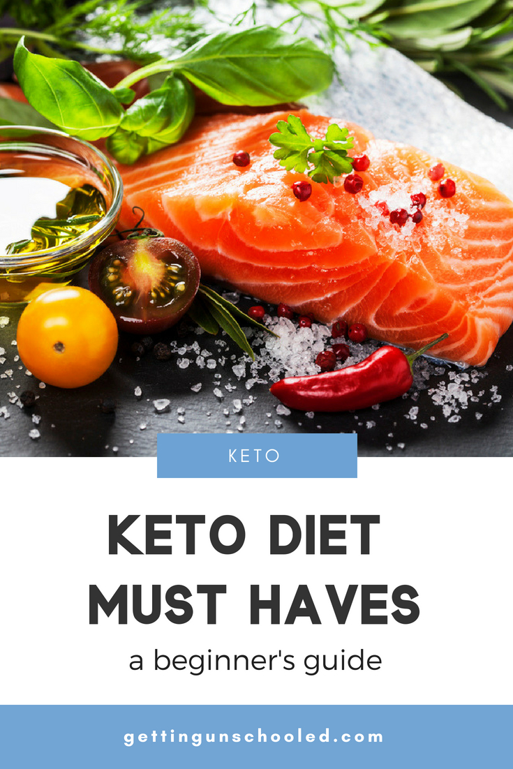 The ULTIMATE list of keto diet must haves--perfect for the beginner keto dieter!  Great ideas!  Thanks for pinning :)