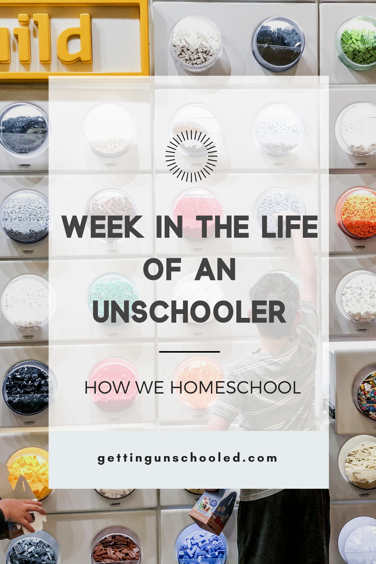 Unschooling is all good around these parts!  Come see the latest photo diary of our week to see what a week in the life of an unschooler looks like :)  #unschooling #homeschooling #photodiary