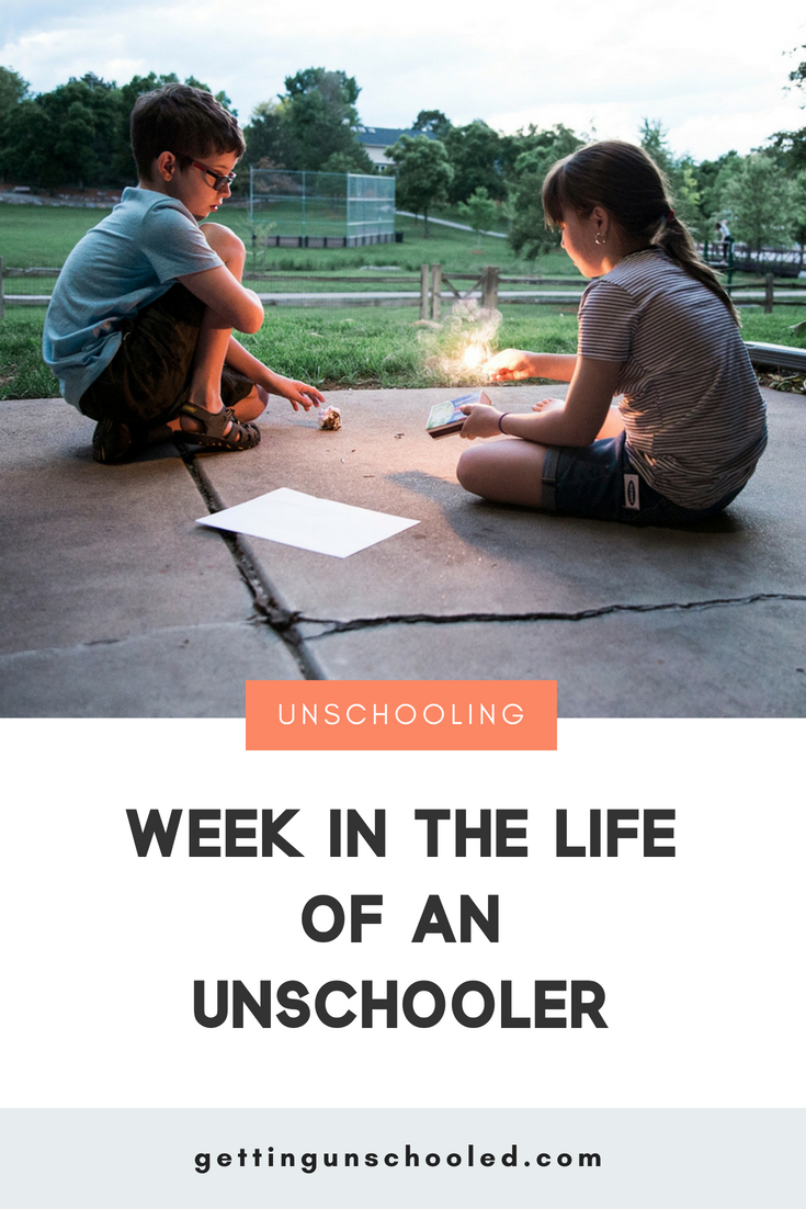 Want to see why unschooling rocks our world??  Come see what we've been up to this week.  #unschooling #homeschooling #relaxedhomeschooling