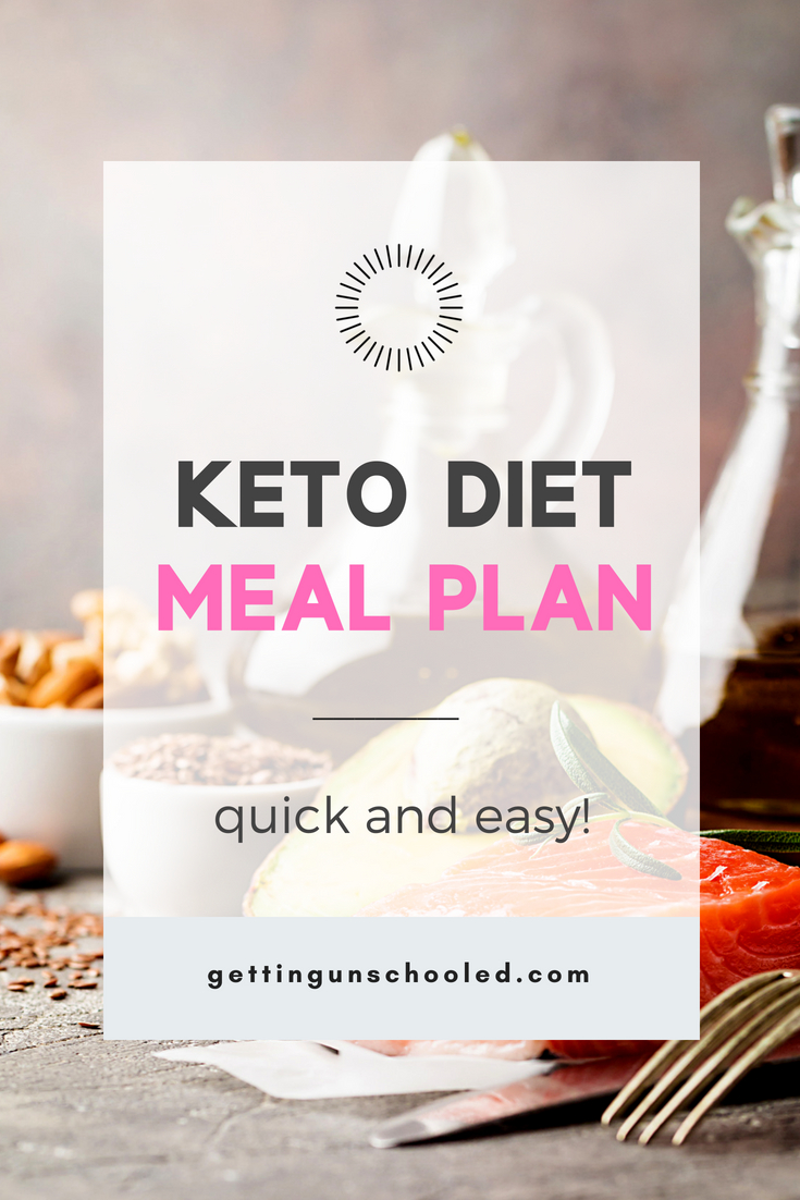 "Have you started the keto diet and you're wondering ""what can I eat on the keto diet""?  This post has you covered!  Check it out for easy keto diet meal plans and more!"
