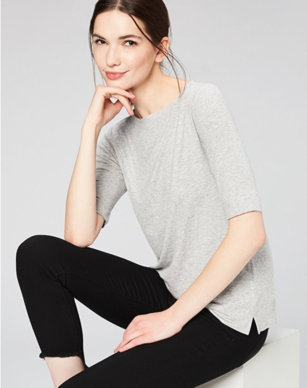 Amazon Fashion's private in-house label, Daily Ritual, makes gorgeous basics that feel very French chic.