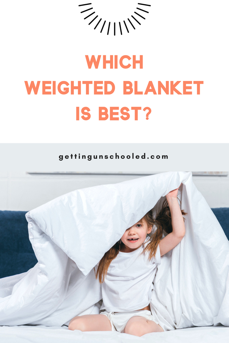 So you've decided to try out the weighted blanket insomnia solution.  Check out this post showcasing the top rated blankets on Amazon with what reviewers had to say and more information on why weighted blankets are so great at helping kids and adults with autism, anxiety, and ADHD, as well as plain ol' insomniacs.