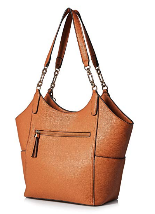 Society New York Cognac women's tote bag--Amazon Fashion has accessories, too!