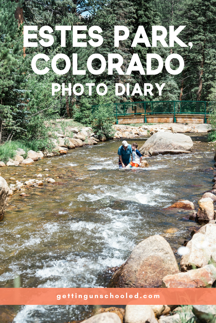 Traveling with kids in never easy, but this quick weekend trip to Estes Park, Colorado, was one of our best!  Is there a correlation between no screens and fun?  I think it definitely helps!  Plus, the Fall River was so life-giving...they could've walked that river for MILES.  More from our trip in this Estes Park, Co, photo diary.