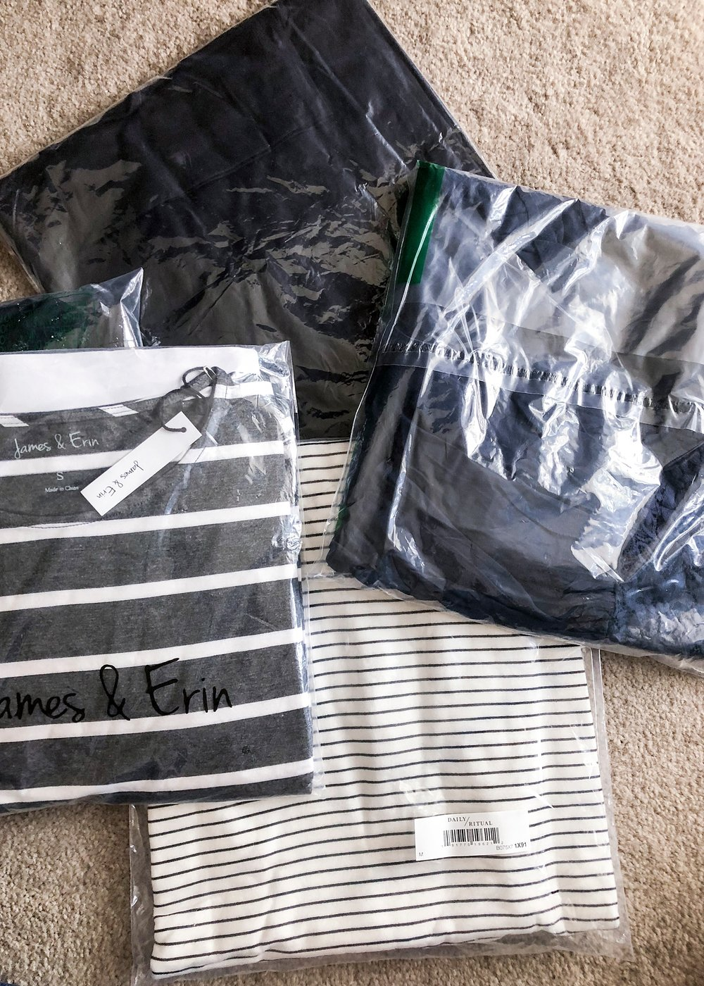 This is my first Amazon Prime Wardrobe shipment!  I tried everything on, so you could see and I reviewed the entire process on the blog for all of the over 40 fashionistas out there :)