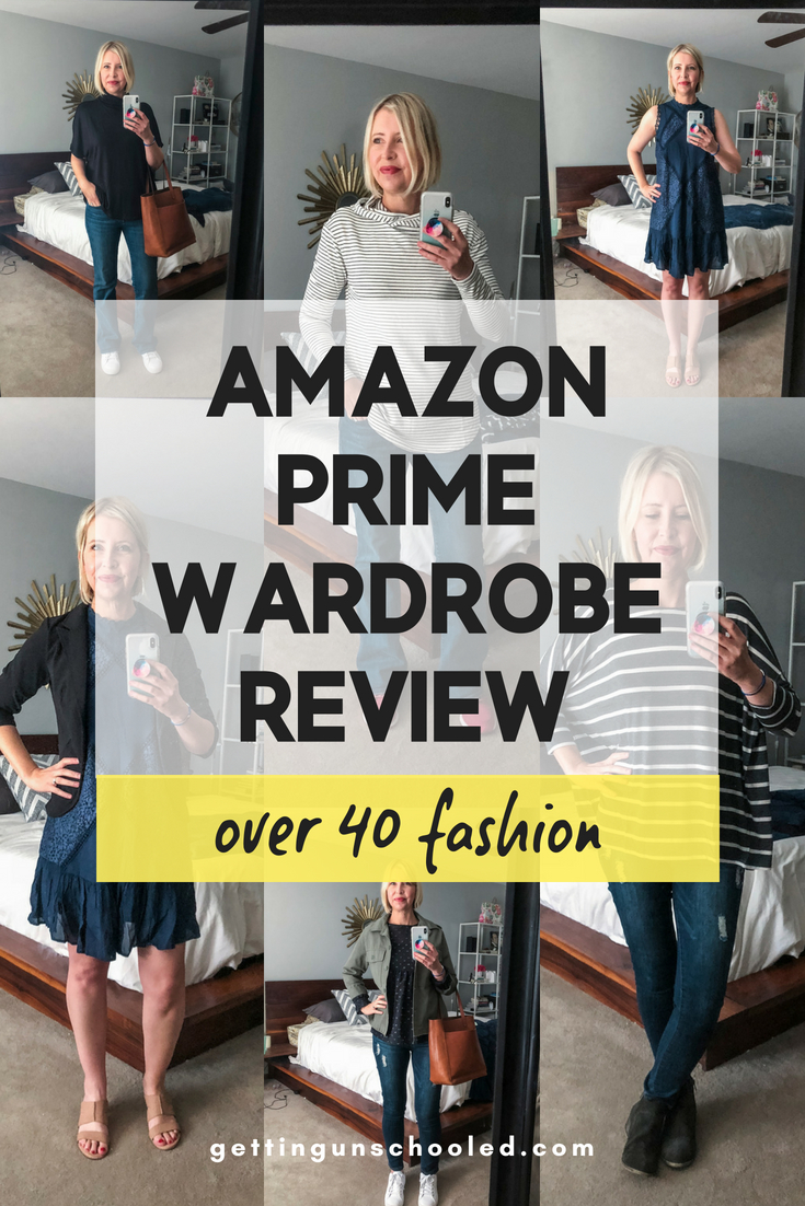 I tried Amazon Prime Wardrobe and this is my review!  Can you guess what I kept and what I sent back?  I LOVED the experience---so easy :) :) #over40fashion #over40style