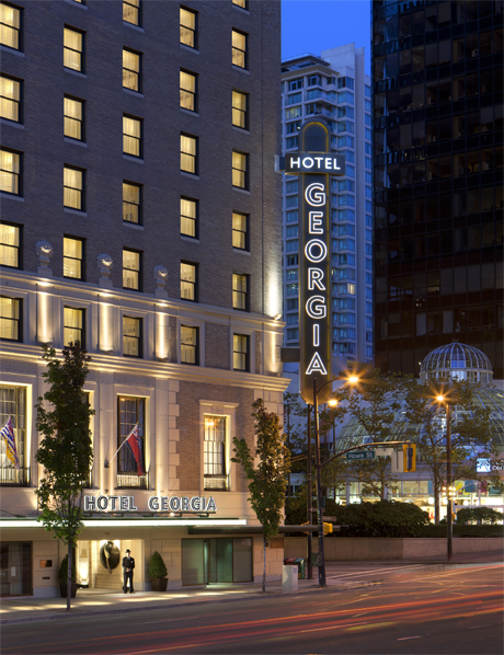 Rosewood Hotel Georgia, built in 1927, is downtown Vancouver's oldest hotel and a lovely retreat in the heart of the city