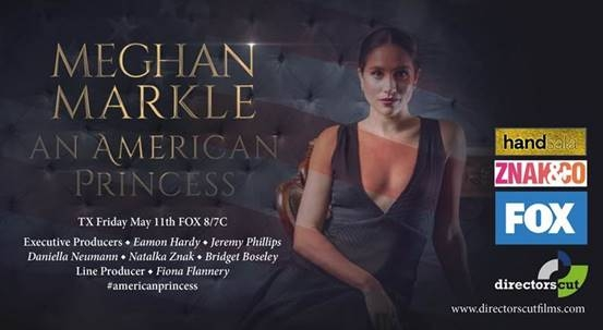 MEGHAN MARKLE - AN AMERICAN PRINCESS | 1x120' | FOX