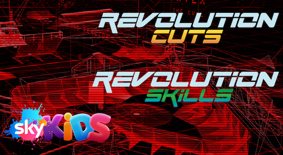 REVOLUTION SKILLS & REVOLUTION CUTS | 2018 | 30x10' | SKY KIDS
