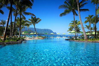 Buy Back the Beach Live Auction Package: Kauai Weekend including stay at Princeville Resort