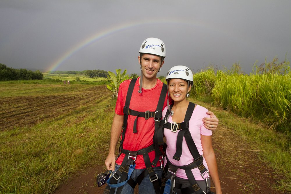 Danny and Sharyl Boren of Skyline Eco-Adventures