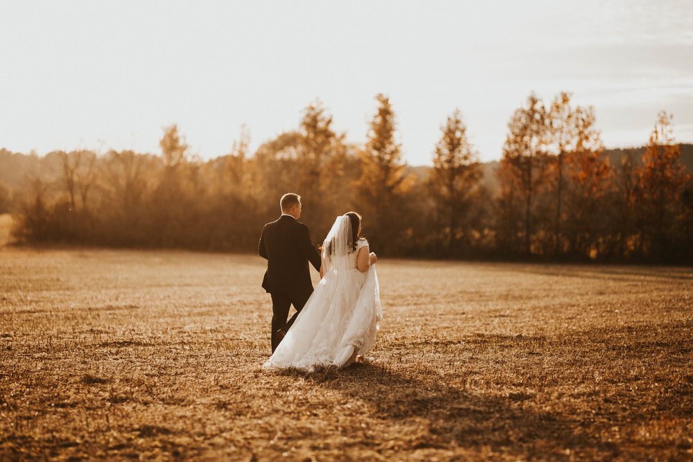 Matt + Anna / Fall Wedding