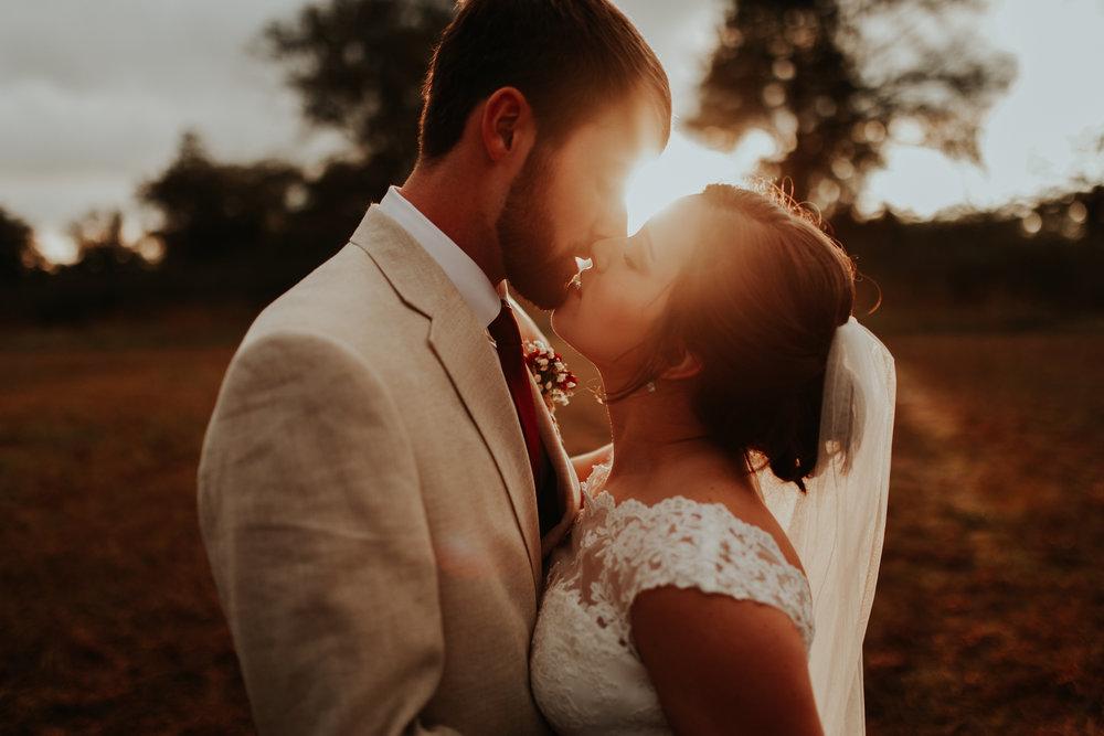 """Jared + Kayla / """"I do"""" at Sunset"""