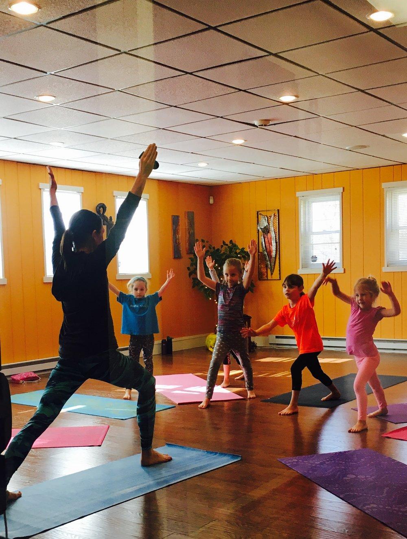 Kids Yoga @ 10:00am