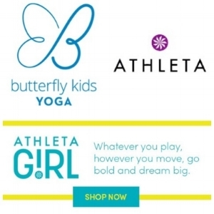 Butterfly Kids Yoga at Athleta Girl