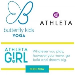 Butterfly Kids Yoga at Athleta Girl