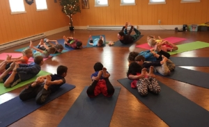 Kids yoga for 3-5 yr olds: Tues, 7/25 @ 10AM