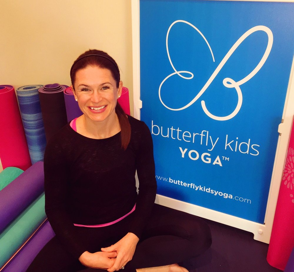 One year later! Cheers to Butterfly Kids Yoga!