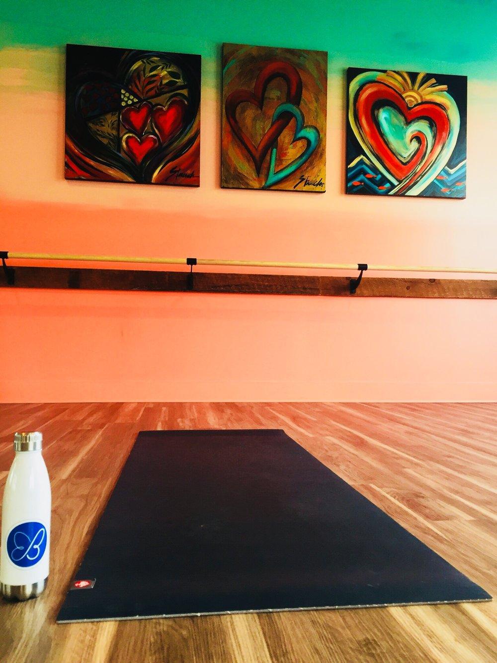 Weekend yoga. Ahh.