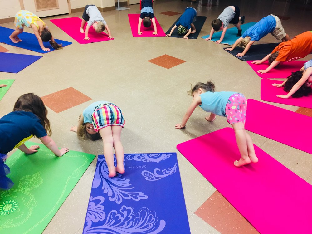 Yoga for 3-5 yr olds -