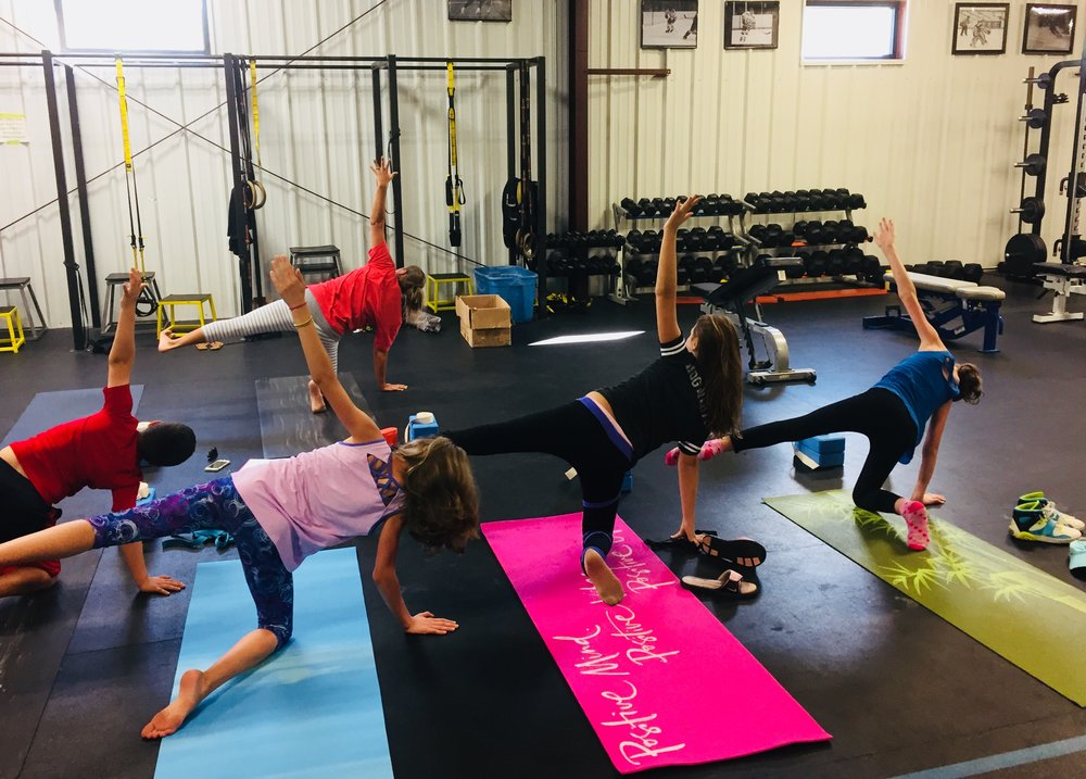 Sunday 4pm Yoga for Athletes - Ages 8-13. Sunday, 9/23 @ 4PM with Heidi and Miss Ali.