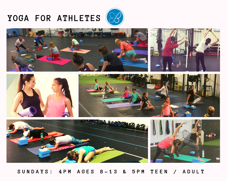 YOGA FOR ATHLETES: SUNDAY CLASSES -