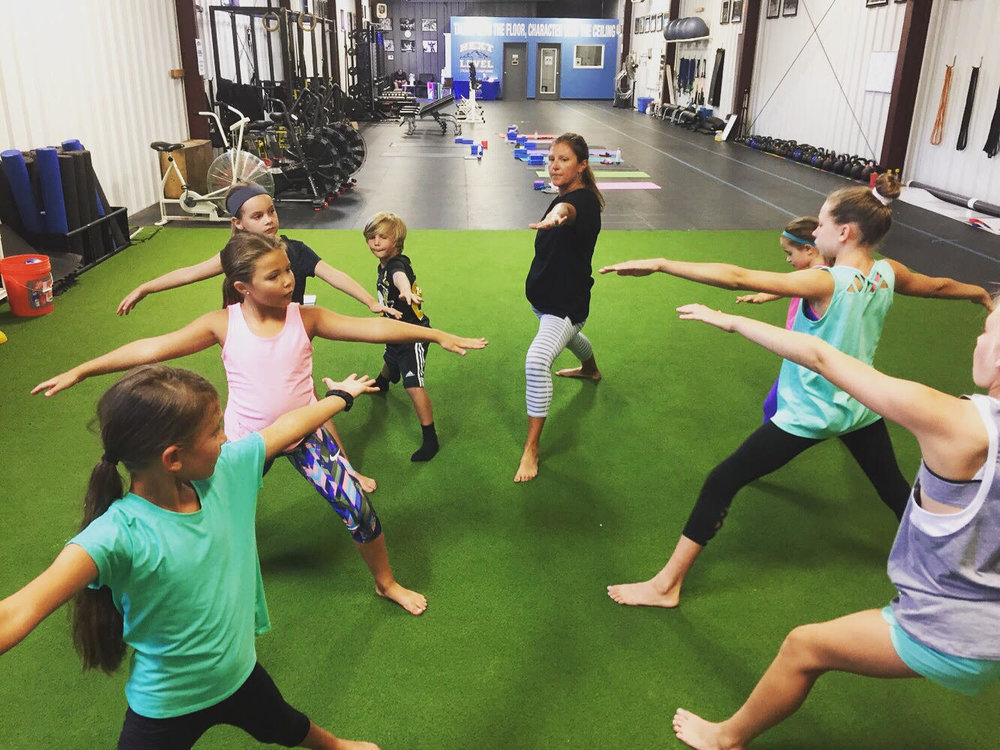 SUNDAY, 1/20 (ATHLETES, 8-13 YRS) -