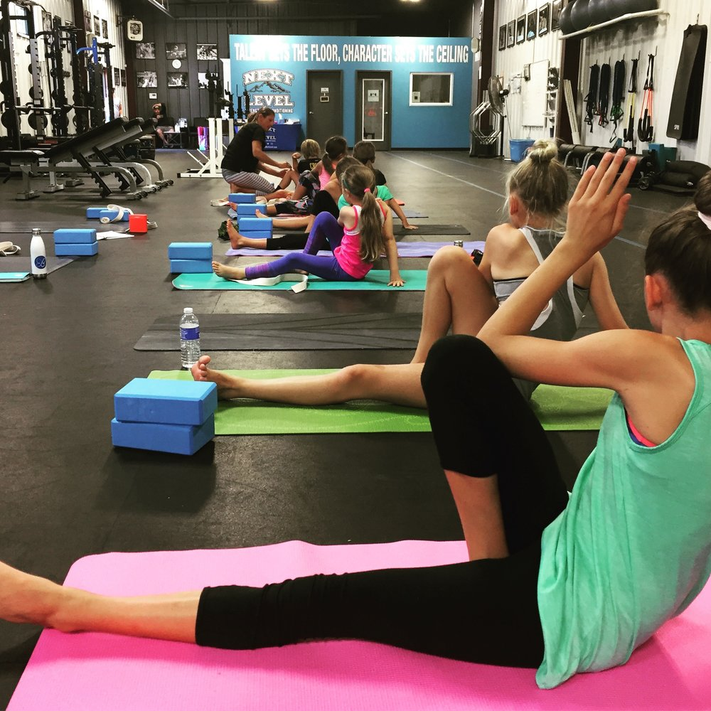 YOGA FOR ATHLETESSunday, 2/10Ages 8-13 (4pm)Teen (5pm) -