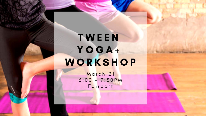 Tween Yoga Girls Empowerment Workshop 3 21 Butterfly Kids Yoga