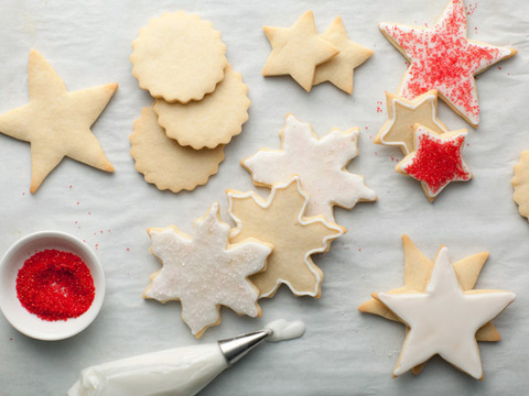 Alton Brown's Sugar Cookies  from  Food Network