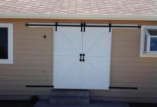 Exterior Barn Doors — Rustic Custom Designs