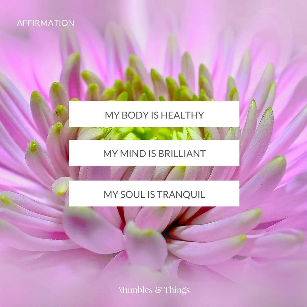 Image result for tranquil affirmations