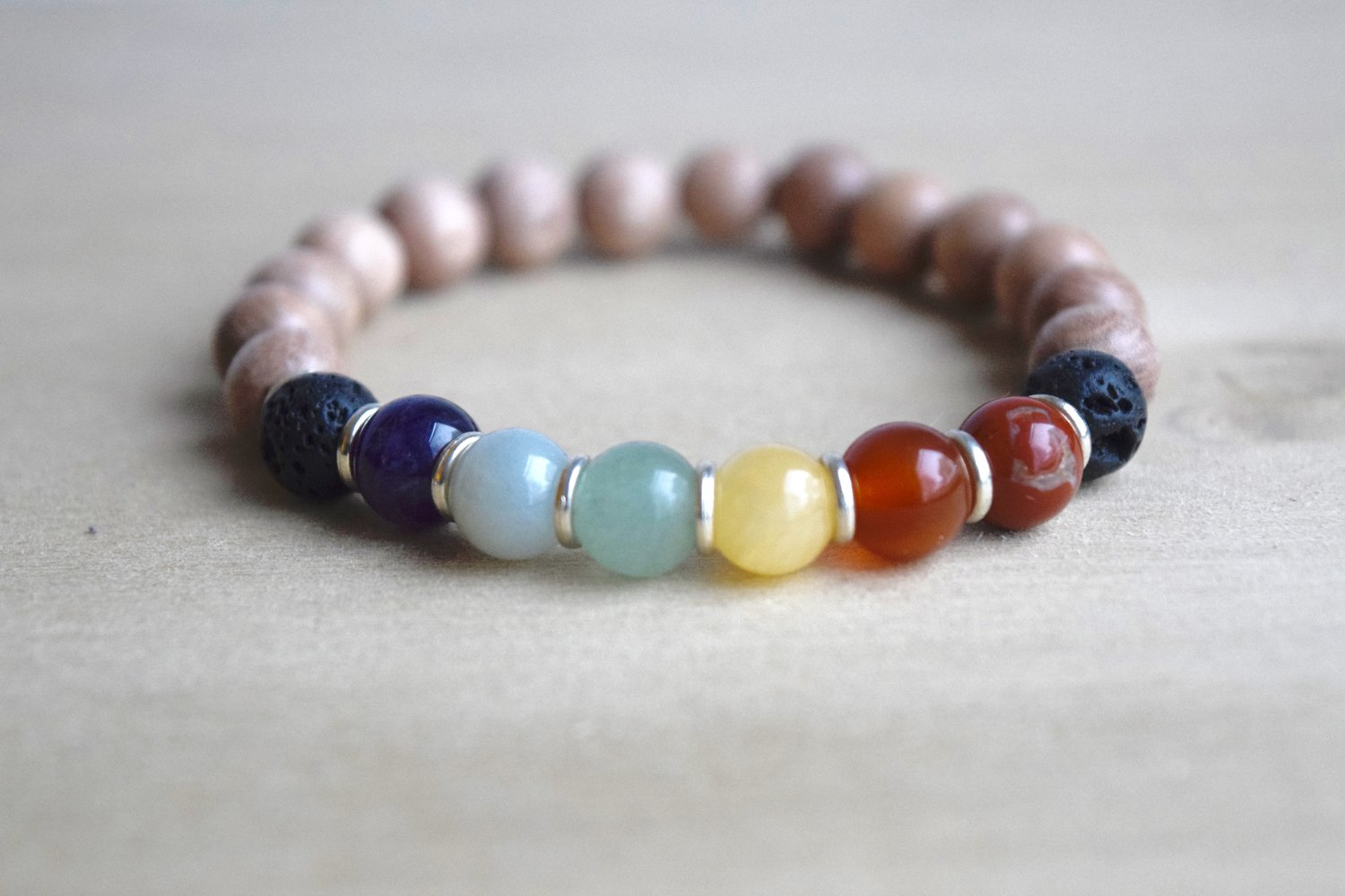 wood healing power bracelets the metals bracelet properties gemstones with individual therapy of precious combine minerals amulet color my horn