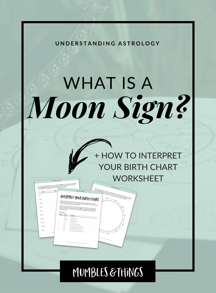 Understanding Astrology What Is A Moon Sign Mumbles Things