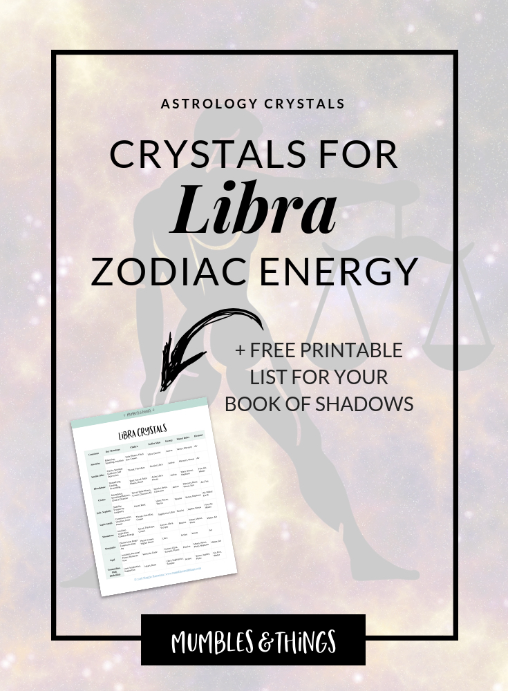15 Crystals for Libra Astrological Energy — Mumbles & Things
