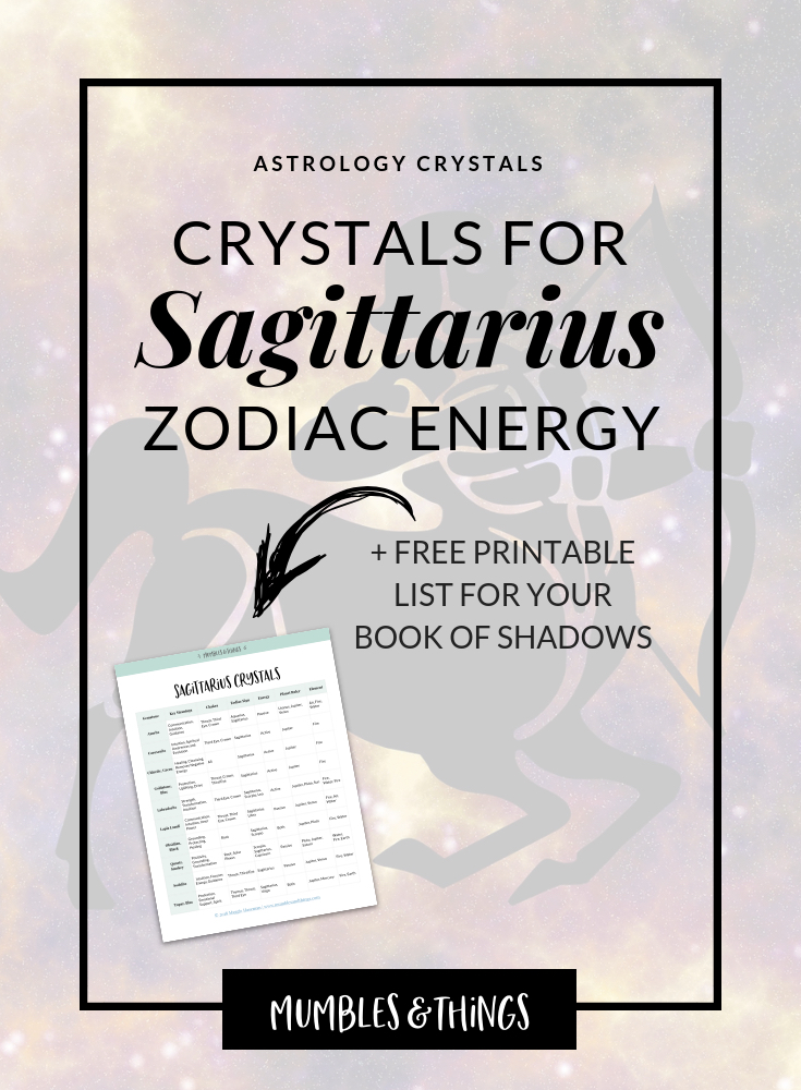 abccdf3f9c47c 14 Crystals for Sagittarius Astrological Energy — Mumbles & Things