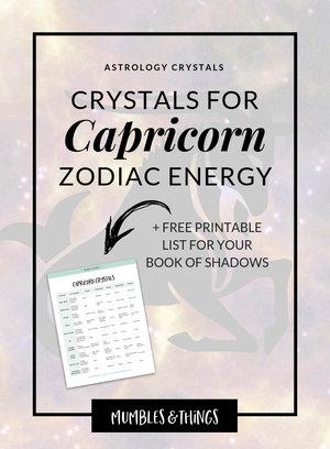 Lucky stone for capricorn female