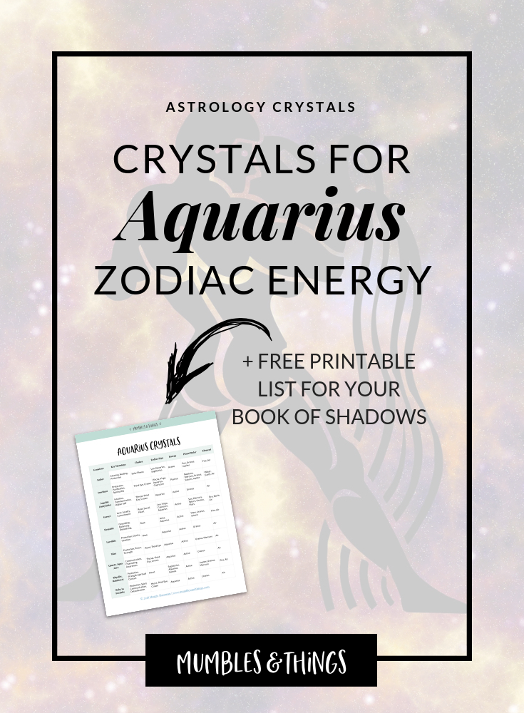10 Crystals For Aquarius Astrological Energy Mumbles Things