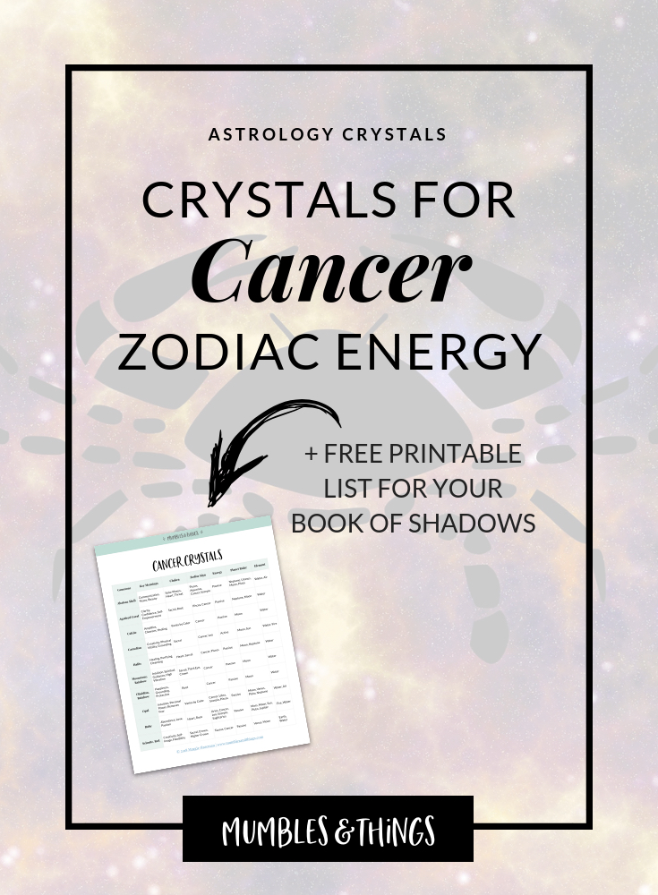 11 Crystals for Cancer Astrological Energy — Mumbles & Things