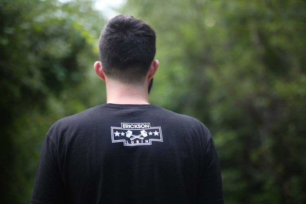 Black T / Back with Logo