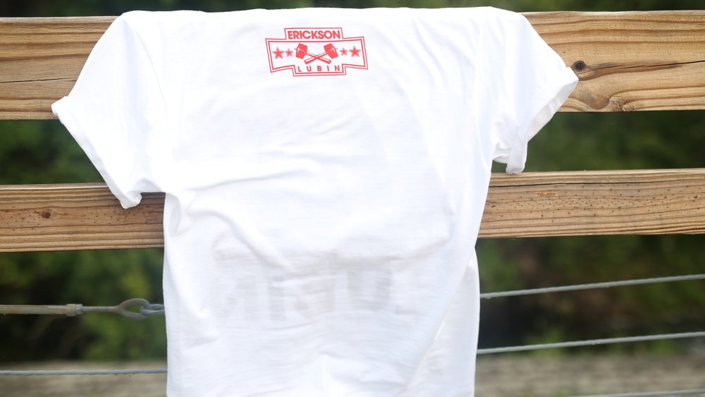 White T / Back with Logo