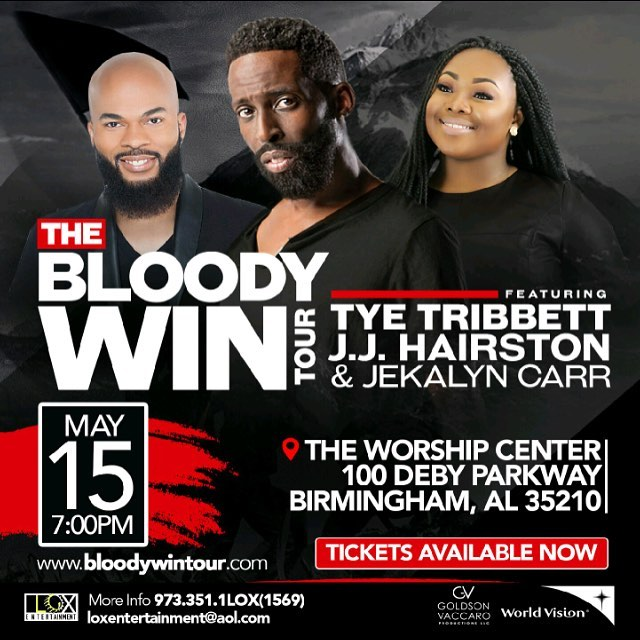 If you're anywhere near Birmingham don't miss out on this!! #BloodyWinTour is bringing you special offer for  #MotivationMonday  Buy 1 VIP Ticket and Get 1 FREE! TONIGHT
