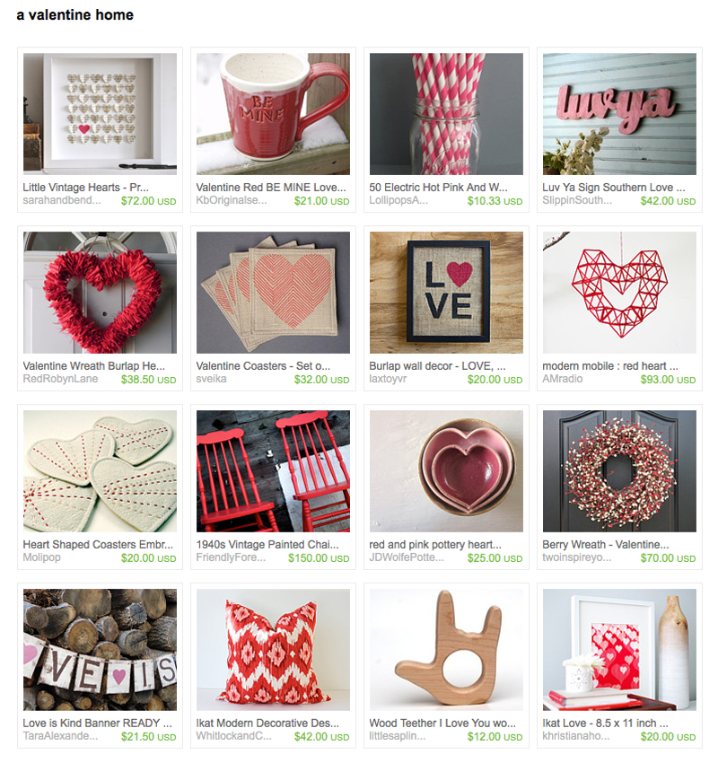 Treasury from Etsy.
