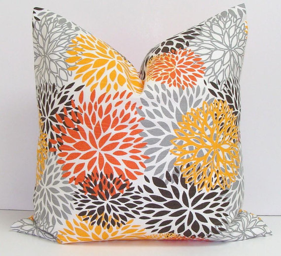 Fall inspired pillow.