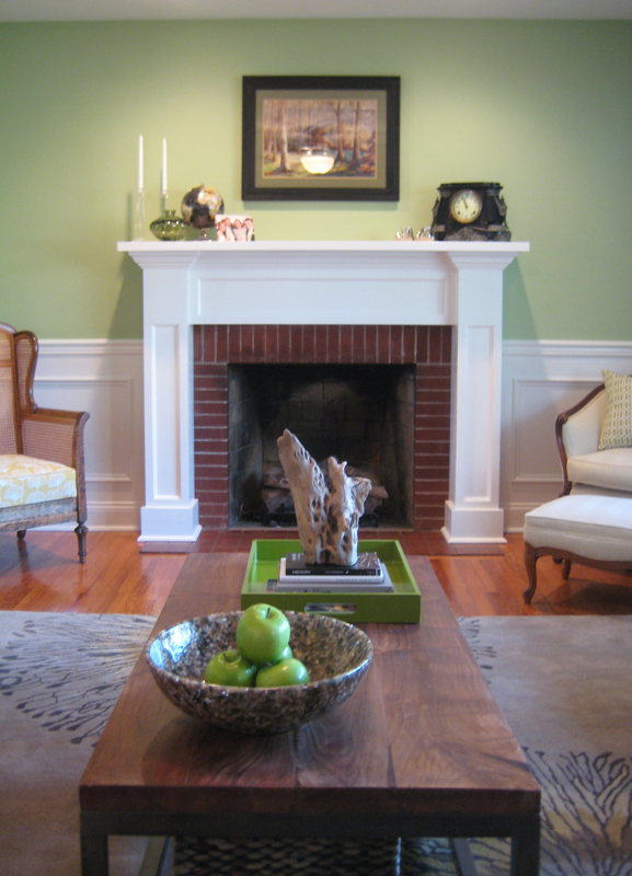 Shea Project - Fireplace