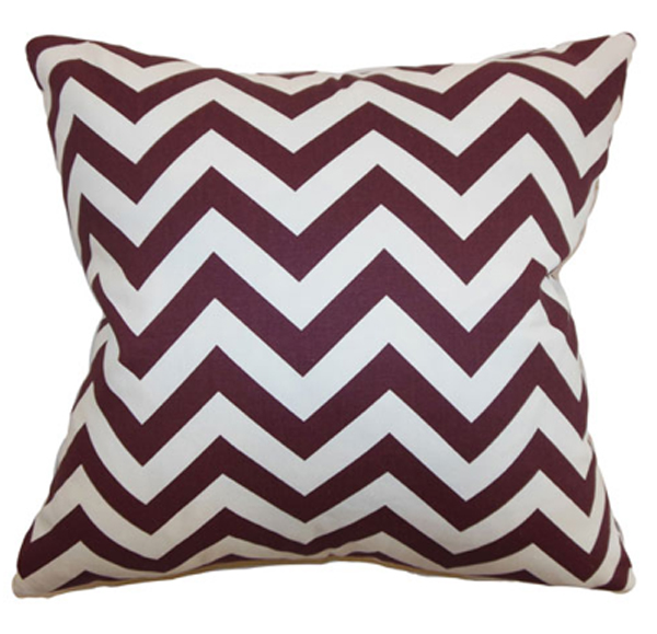 Chevron Toss Pillow